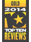 Rated #1 by TopTenReviews